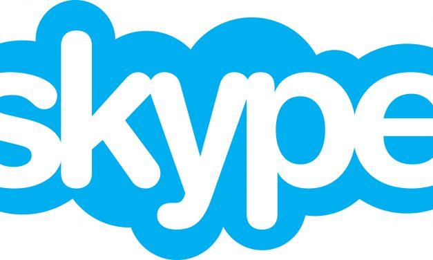 Aktualizacja web Skype