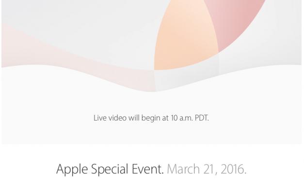 Konferencja Apple 21.03.2016