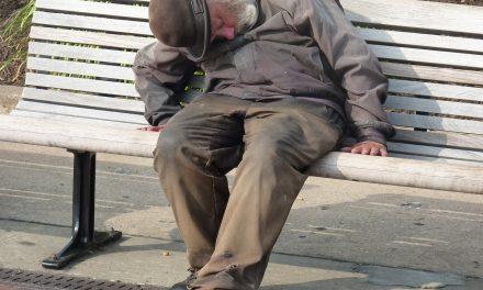 Bezdomny czy król życia?